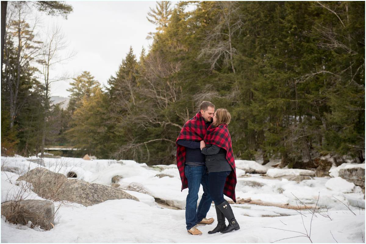 White Mountain engagement photographer