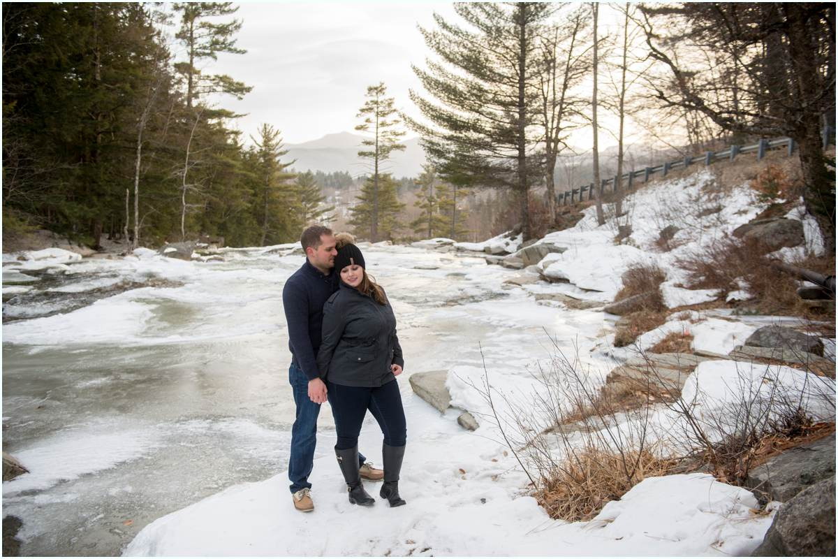 natural engagement photographer in New Hampshire