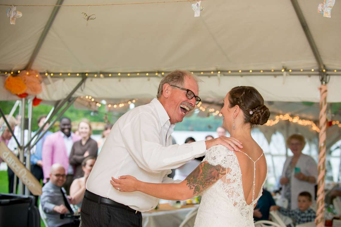 photojournalist wedding photography in Maine