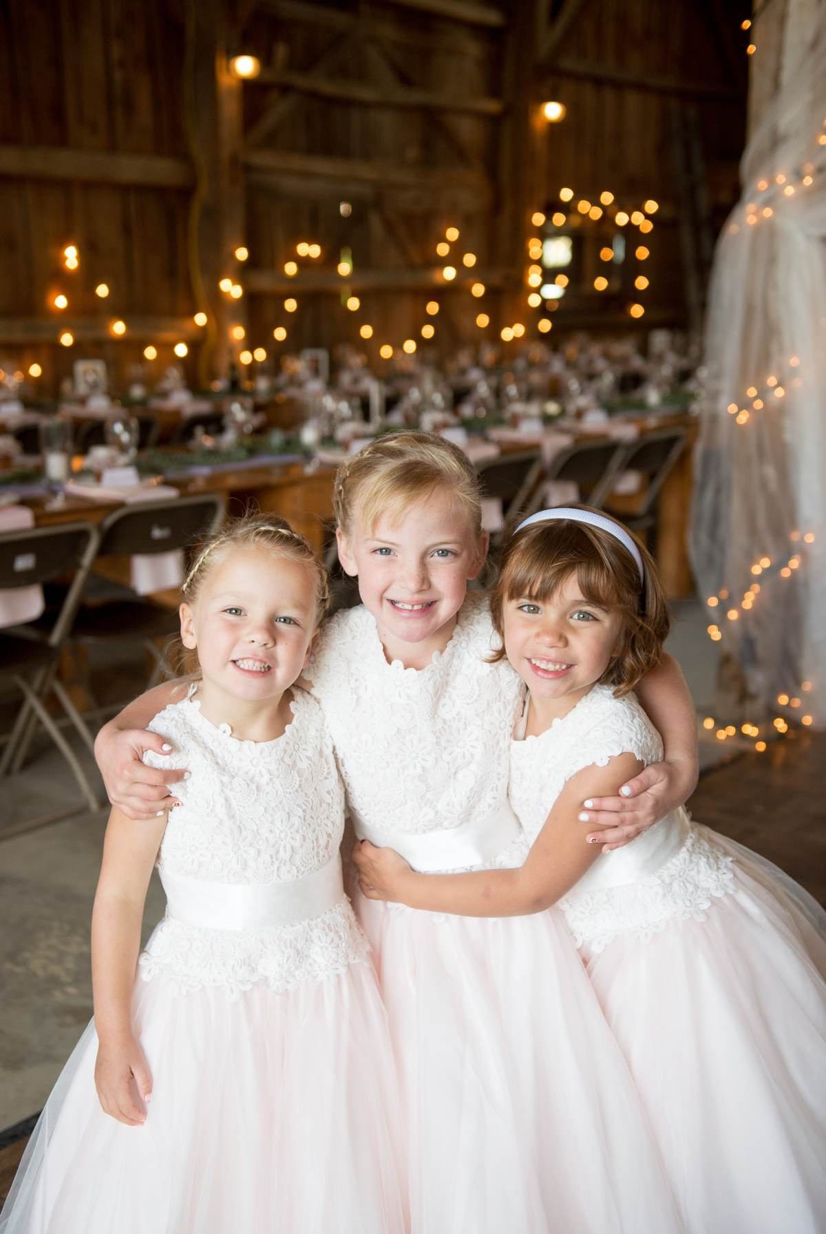 flower girl outfits for rustic weddings